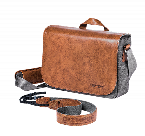 OM‑D Messenger Leather Bag